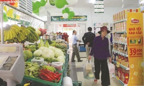 Gian nan đưa hàng địa phương vào siêu thị