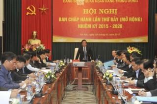 Đảng ủy cơ quan NHTW: Triển khai thực hiện tốt nhiệm vụ chính trị của Ngành