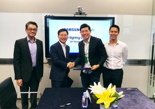 Grab và Samsung hợp tác phát triển kỹ thuật số ở Đông Nam Á