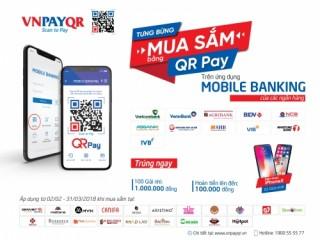Nhận 100 nghìn đồng khi trải nghiệm QR Pay trên Mobile Banking