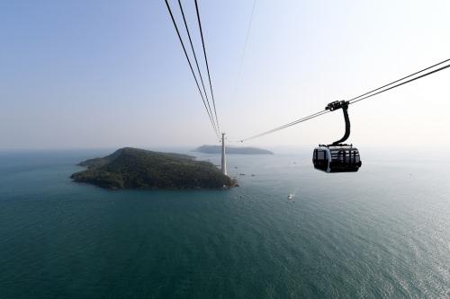 Tuyến cáp treo dài nhất thế giới chính thức khai trương tại Phú Quốc