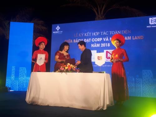 Bách Đạt Corp ký kết hợp tác toàn diện với Nhất Nam Land