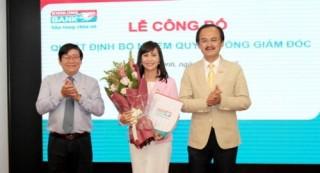 Bà Trần Tuấn Anh giữ chức vụ Quyền Tổng giám đốc Kienlongbank