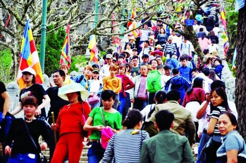 Doanh nghiệp du lịch tăng tour hành hương