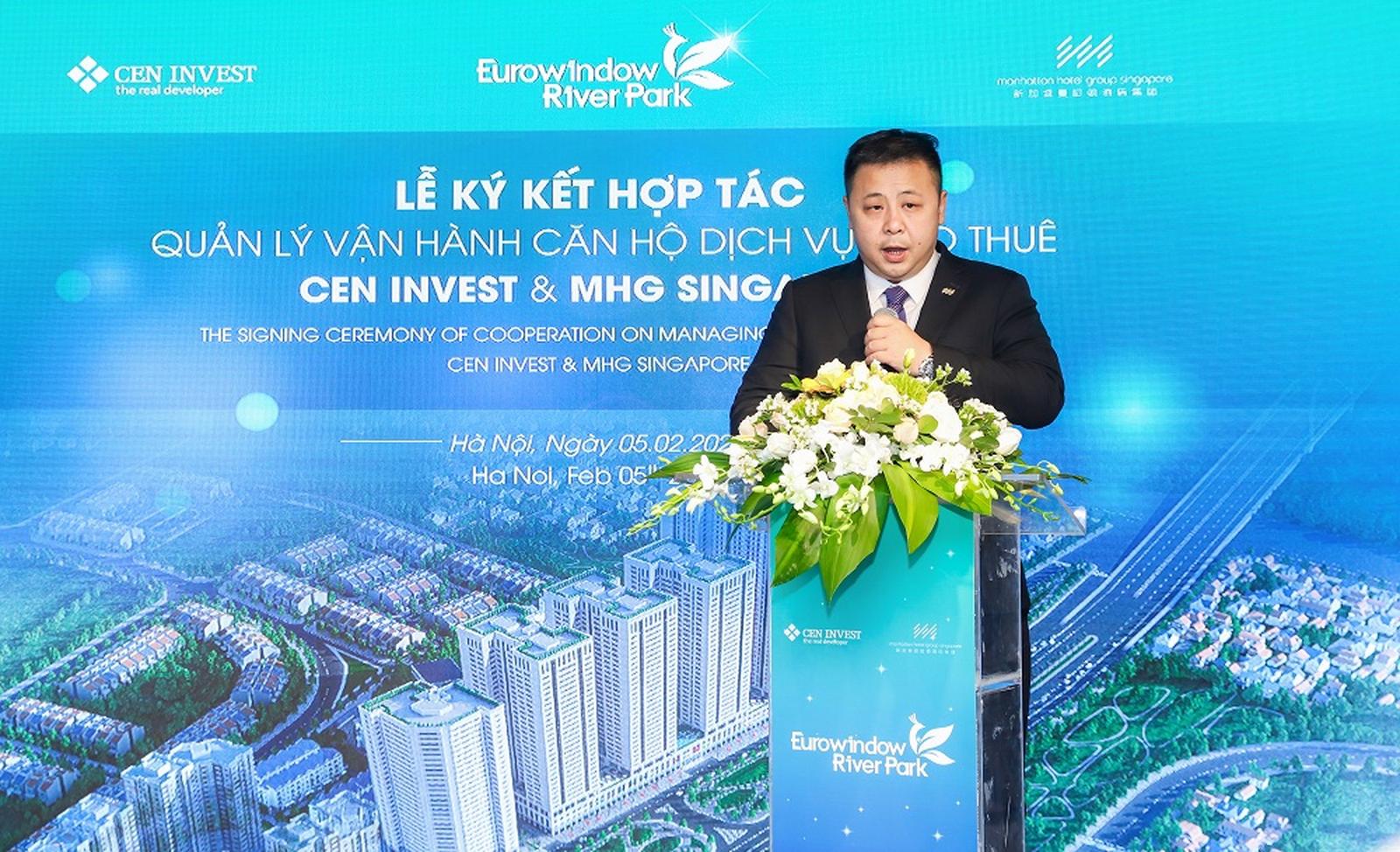 ceninvest va mhg singapore hop tac quan ly van hanh can ho cho thue euro river tower