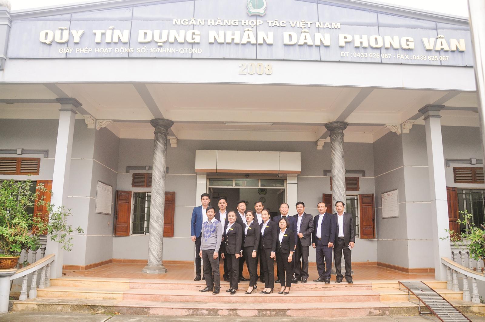 Sức sống mới trên vùng đất Phong Vân