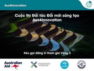 Khởi động vòng hai chương trình tài trợ Aus4Innovation