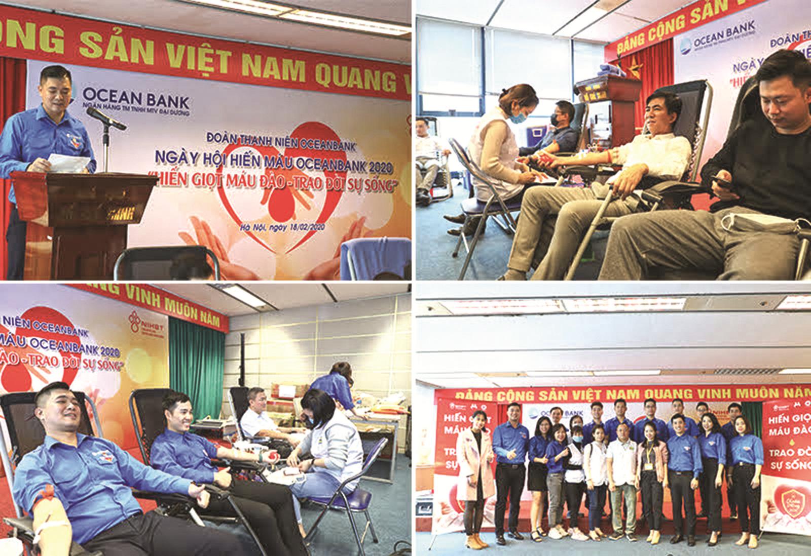 Công đoàn Ngân hàng Việt Nam: Giọt máu cứu người…