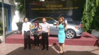 MobiFone trao thưởng xe Mercedecs C250