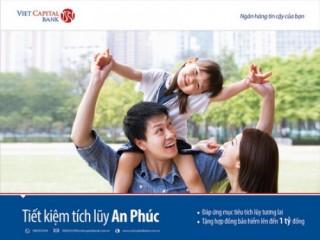 Tặng bảo hiểm đến 1 tỷ đồng khi gửi tiết kiệm tại Viet Capital Bank
