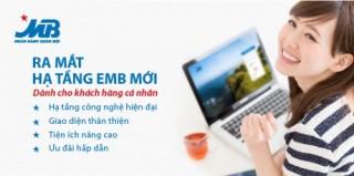 MB nâng cấp Internet Banking mới cho khách hàng cá nhân