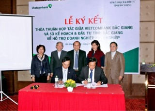Vietcombank dành 1000 tỷ đồng cho vay DN khởi nghiệp ở Bắc Giang