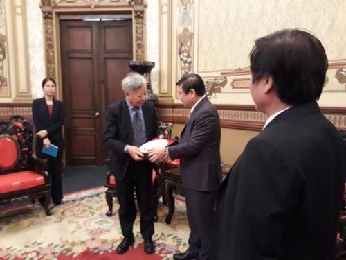 AIIB muốn tham gia đầu tư phát triển hạ tầng TP.HCM