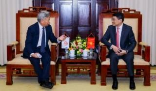 Thống đốc Lê Minh Hưng tiếp Chủ tịch AIIB