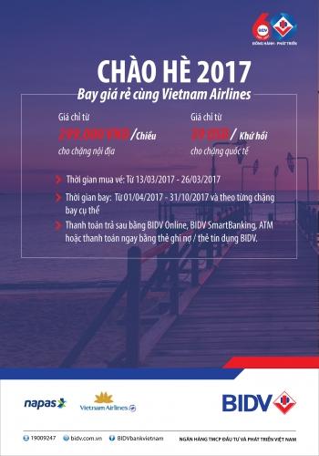 Cơ hội bay Vietnam Airlines giá rẻ