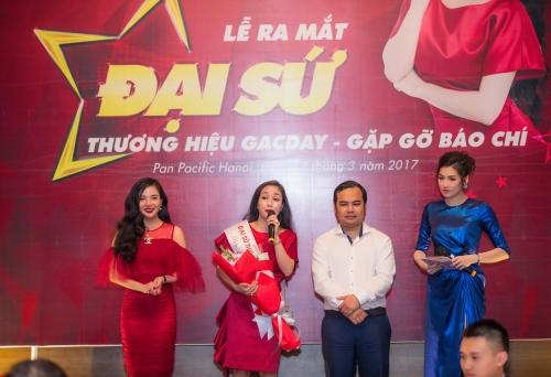Ốc Thanh Vân trở thành đại sứ thương hiệu Gacday