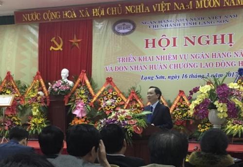 NHNN Chi nhánh Lạng Sơn triển khai nhiệm vụ NH năm 2017