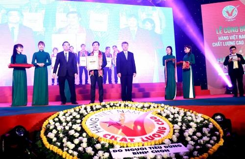 Vinamilk được bình chọn Hàng Việt Nam chất lượng cao 21 năm liền