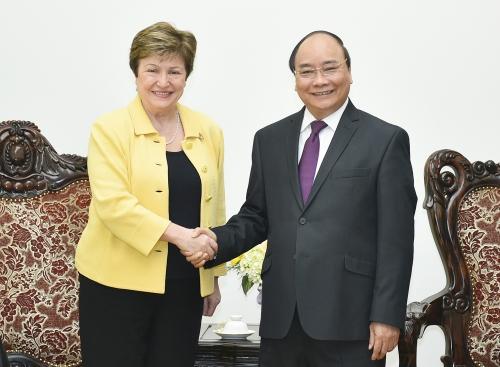 Thủ tướng đề nghị WB hỗ trợ tái cơ cấu kinh tế
