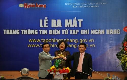 Tạp chí Ngân hàng ra mắt Trang thông tin điện tử