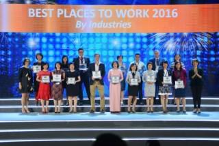 Tập đoàn Viettel nằm trong TOP nơi làm việc tốt nhất Việt Nam 2016