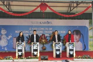 """Công ty Karofi khởi công dự án """"Nước uống học đường"""""""