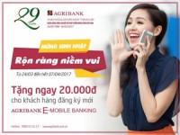Mừng sinh nhật, rộn ràng niềm vui cùng Agribank E-Mobile Banking