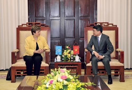 WB cam kết sẽ tập trung nguồn lực hỗ trợ và phối hợp chặt chẽ với Việt Nam