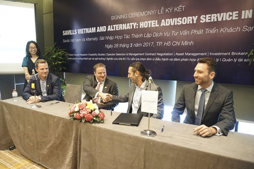 Alternaty sáp nhập với Savills thành lập dịch vụ tư vấn khách sạn