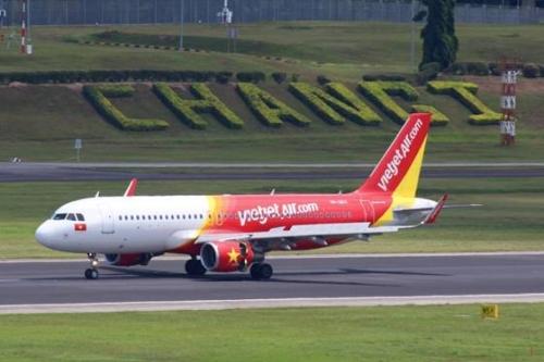 Vietjet chuyển khai thác các chuyến bay sang nhà ga T4  sân bay quốc tế Changi