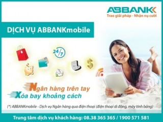 ABBank Mobile miễn phí giao dịch