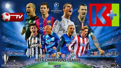 K+ độc quyền phát sóng UEFA Champions League đến năm 2021
