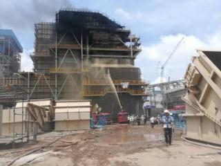 Vụ cháy tại nhiệt điện Duyên Hải 3 không gây thiệt hại về người