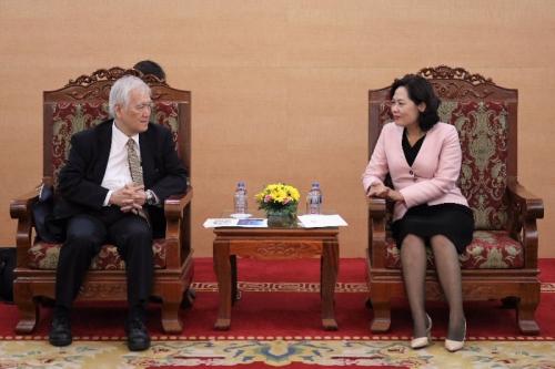 Hoạt động đầu tư của Tập đoàn MUFG và BTMU tại Việt Nam được đánh giá cao