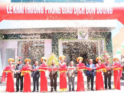 Vietcombank khai trương phòng giao dịch tại Đơn Dương, Lâm Đồng
