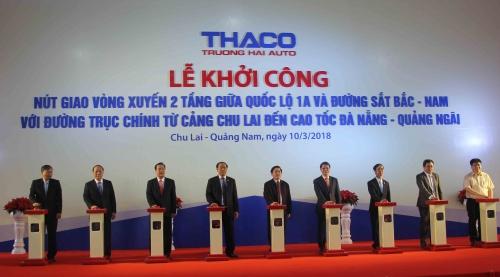 Thaco khởi công nút giao thông quan trọng trên Quốc lộ 1A
