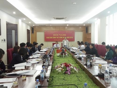 Ngành Ngân hàng Quảng Ninh tổ chức hội nghị giao ban công tác năm 2018