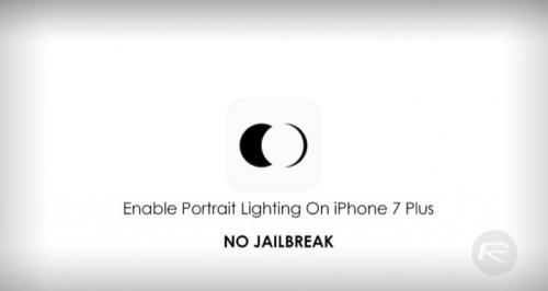 Ứng dụng giúp mang Portrait Lightning lên iPhone 7 Plus không cần jailbreak