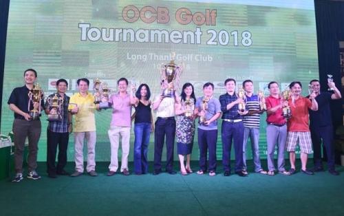OCB Golf Tournament 2018 ghi nhiều dấu ấn