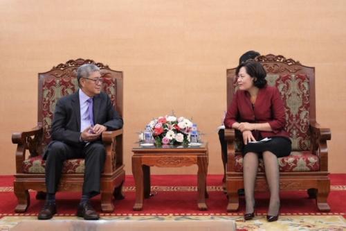 Tăng cường hợp tác giữa NHNN và BIS