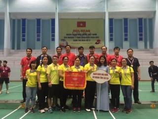 Hội thao NHNN 7 tỉnh miền núi phía Bắc: NHNN Chi nhánh Lào Cai giành giải nhất toàn đoàn
