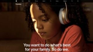 Apple ra mắt trang web giúp phụ huynh quản lý con cái