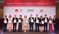 "Vietravel được trao giải ""Japan Tourism Award in Vietnam 2017"""