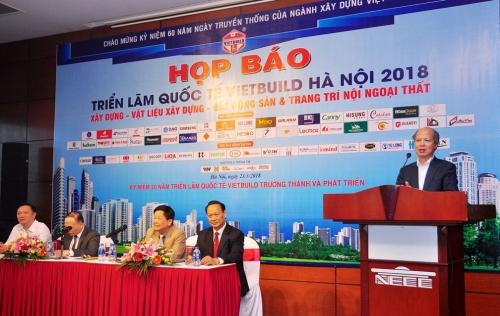 Hơn 1.700 gian hang tham gia Triển lãm Vietbuild Hà Nội 2018