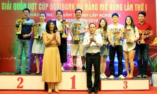 Giải quần vợt Cúp Agribank Đà Nẵng mở rộng thu hút 150 VĐV tham gia
