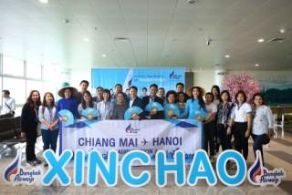 Khai trương đường bay thẳng Chiang Mai - Hà Nội