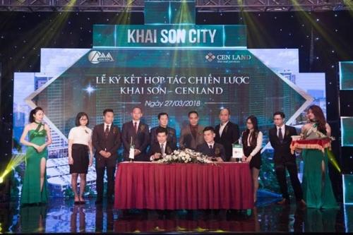 Khai Sơn và CENLAND hợp tác phát triển dự án Khai Sơn City