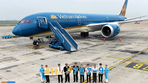 Vietnam Airlines khai thác Boeing 787-9 trên đường bay Hà Nội – Moscow