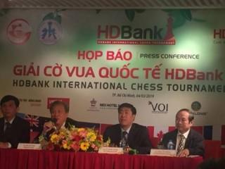 Sắp khởi tranh giải cờ vua Quốc tế HDBank lần thứ 9