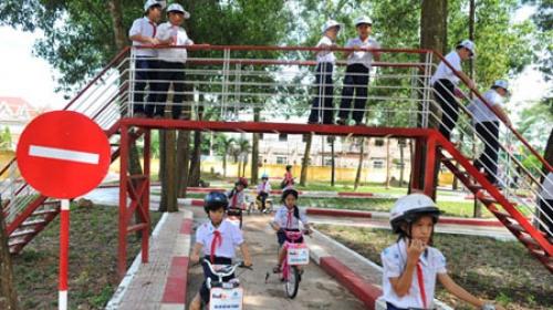 TP.HCM: Xây dựng công viên an toàn giao thông cho trẻ em